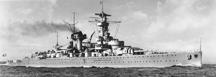 """Panzerschiff """"Deutschland"""""""