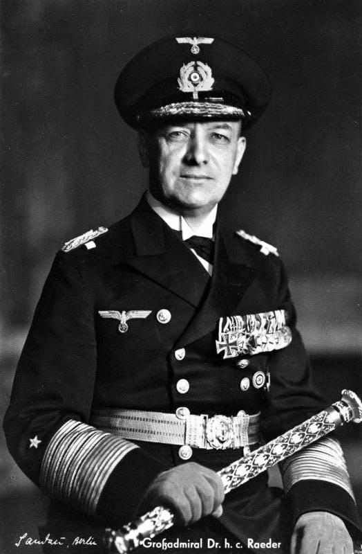 Großadmiral Erich Raeder